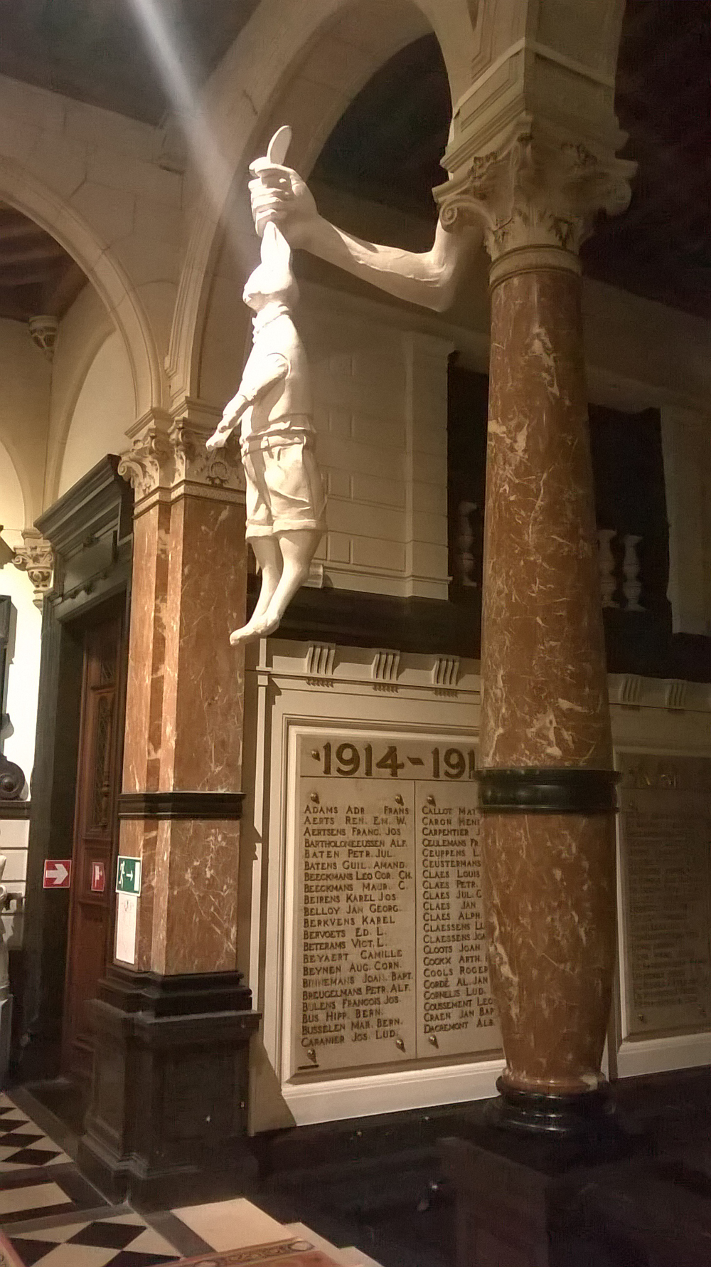 Marius Ritiu/ The Patron of the Travelers (fragment)